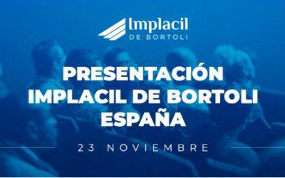 PRESENTACIÓN IMPLACIL DE BORTOLI